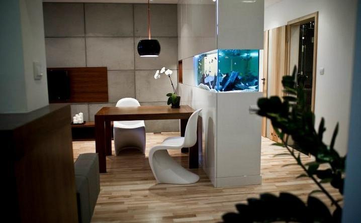 Mieszkanie Bemowo - Hol, Kuchnia, Salon (2)